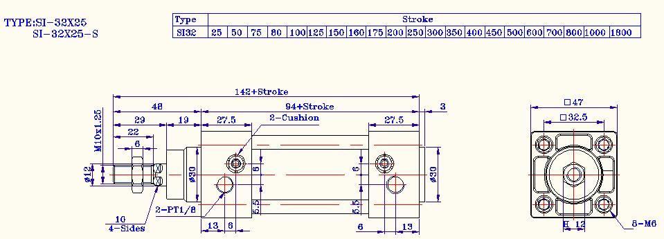 亚德客SI系列图纸图纸-3DSource工程意思资气缸中a什么海量表示图片