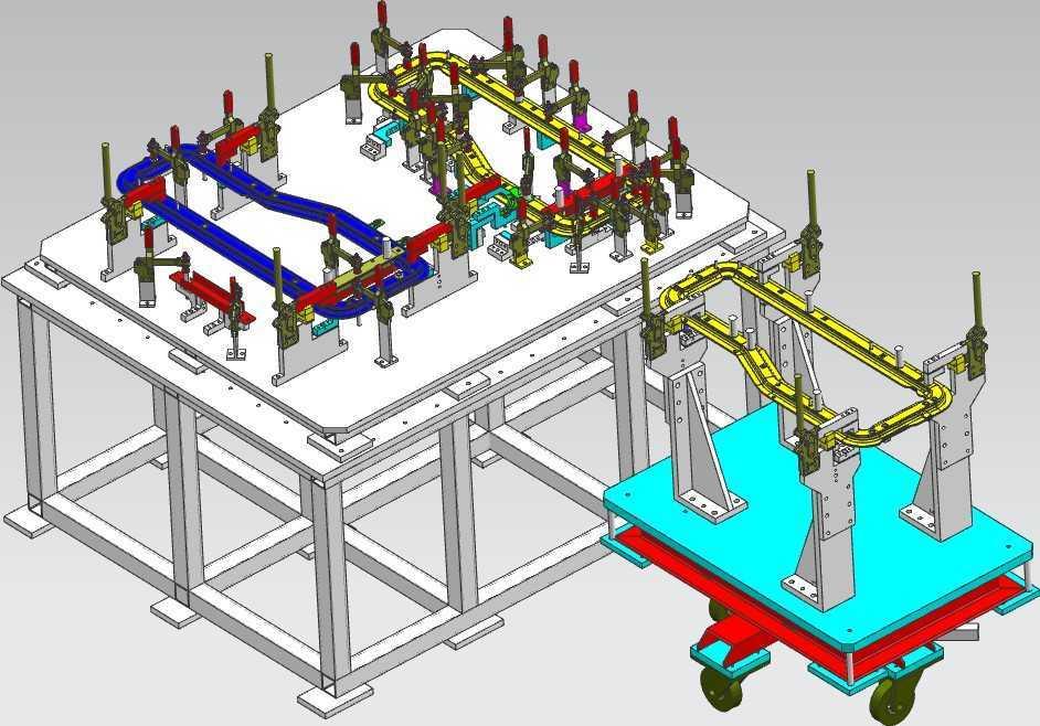 机械图纸非标自动化设备3d模型54